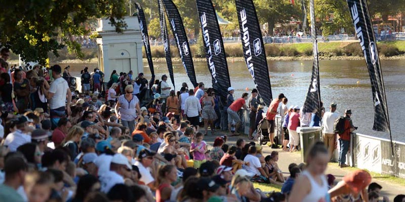 Melbourne's Moomba Masters attracts six world champions as 200,000 waterski and wakeboard fans