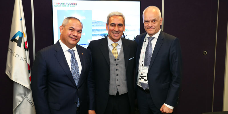 Raffaele Chiulli Unanimously Elected SportAccord President at General Assembly