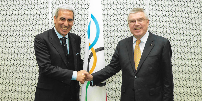 IOC President Bach praises the role of ARISF at General Assembly