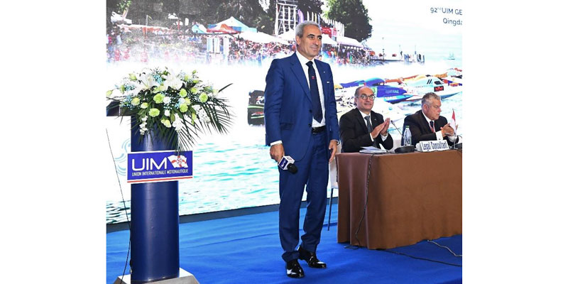 President Dr. Raffaele Chiulli reelected UIM President at 92nd General Assembly in Qingdao, China