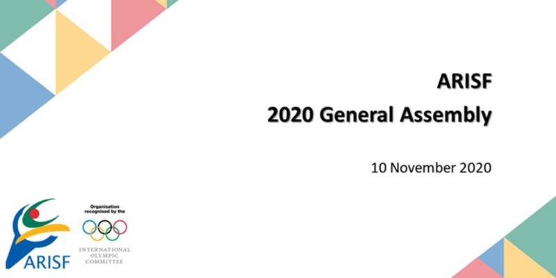 Tune in LIVE for the ARISF General Assembly 2020