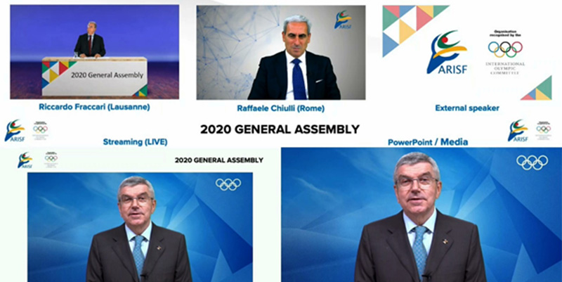 President Chiulli successfully led first ever ARISF Virtual General Assembly